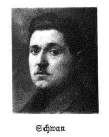 Portrait Reichstagsabgeordneter Wilhelm Schwan