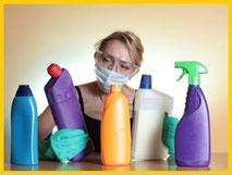 Productos limpieza tóxicos