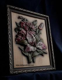 Панно цветы