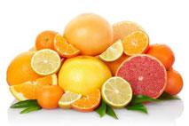 Gli agrumi perché fanno bene alla salute