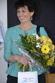 Bundesrätin Doris Leuthard in Gippingen