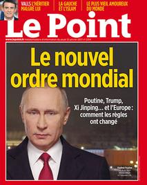 Путин Владимир, Президент России, Le Point 12 января 2017