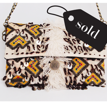 boho bag tas clutch festival bag party tasje vintage carpet bag berber bag