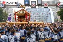 〈富岡八幡宮例大祭〉神輿連合渡御 @2014.8.17