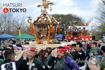 第6回 復興祭, 神輿渡御, 足立区舎人公園