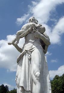 griechische Götter Skulptur München Park Schloss
