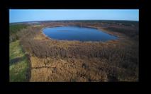 Der Lubowsee aus der Vogelperspektive ist ein echter Hingucker!
