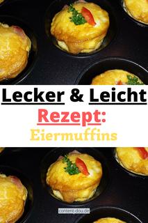 Lecker & Leicht: Herzhafte Eiermuffins