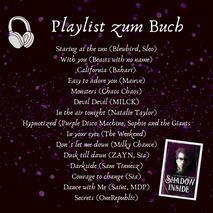 Playlist, Shadow inside, Urban Fantasy, Veronica More