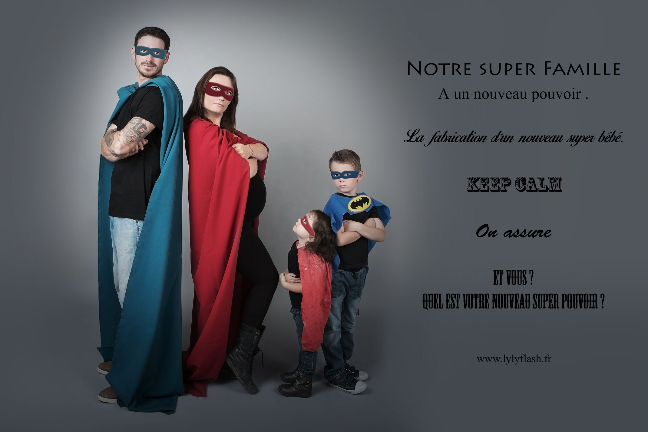 famille de super heros photographe b b. Black Bedroom Furniture Sets. Home Design Ideas