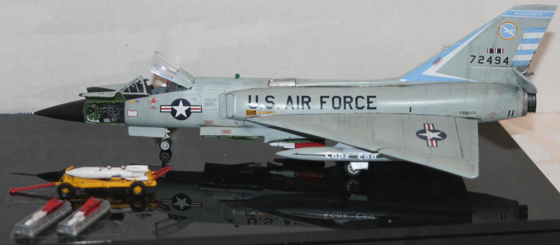 Meng 1 72 F 106a Delta Dart Tex The Model Maker