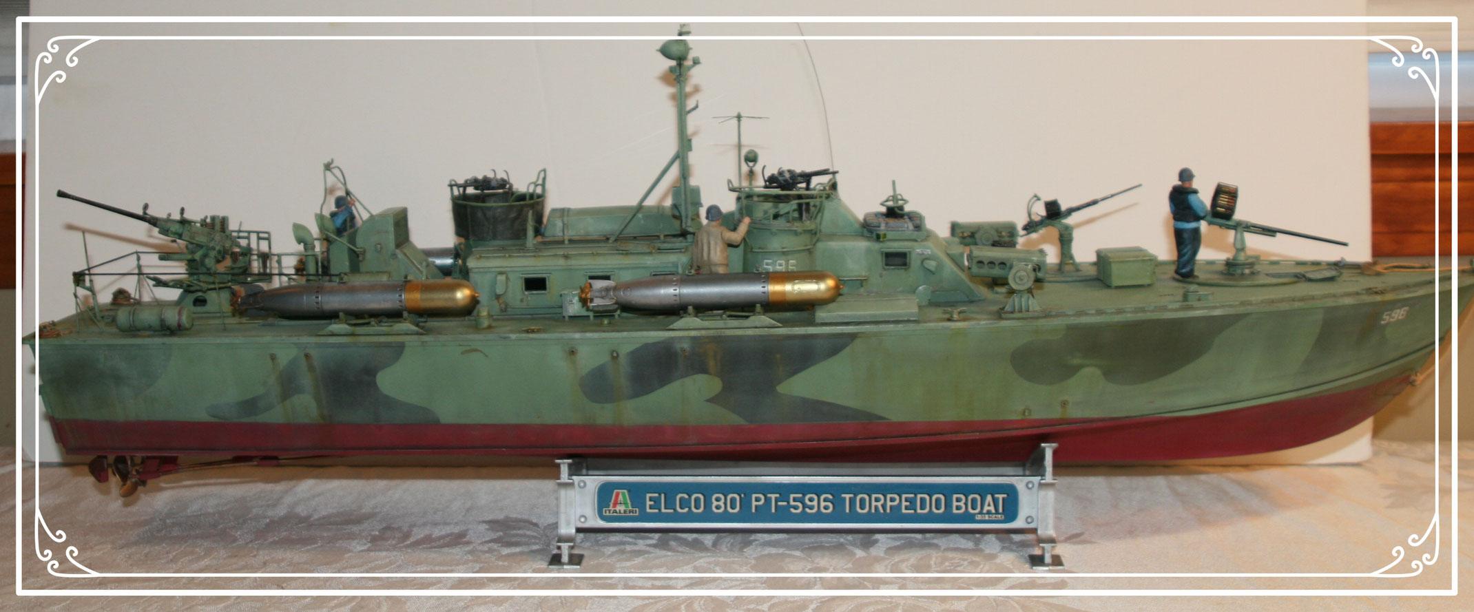 Italeri 1 35 80 Elco Pt Boat 596 Tex The Model Maker