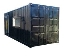 窓 ドア カラーコンテナ 20ft ブラック 倉庫 値段 価格 物置 改造 販売