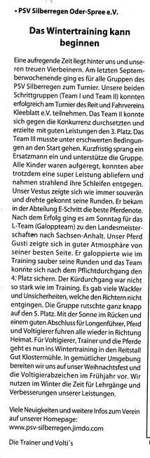 """""""Odervorland Kurier"""", November-Ausgabe 2014"""