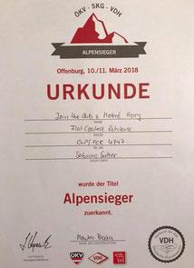 VDH-Alpensieger 2018