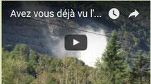 Carrière en activité au Bager sud d'Oloron et nuisances