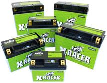 Unibat X-Racer Lithium-Ionen Batterien