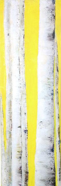 Aspen | Acryl/Sand | 150x50 cm