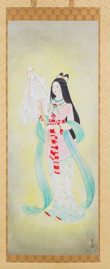菊理媛尊御神像(日本書紀編纂1300年記念事業)