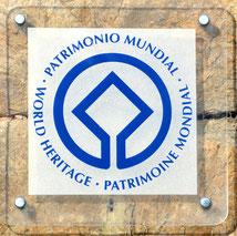 Logo du Patrimoine mondial de l'Unesco