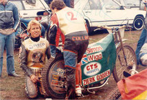 Simon Wigg (GB (t) in Scheessel (ca. 1985)