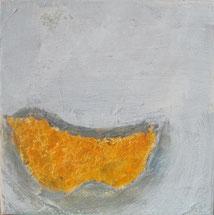 Nr. 2010-HO-017, 30 x 30 cm, Acryl, Collage auf Leinwand