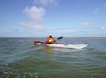 Sandbank im Watt