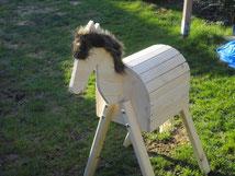 """Pony-Holzpferd """"Mäxchen"""""""