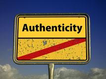 Authenzität, authentisch