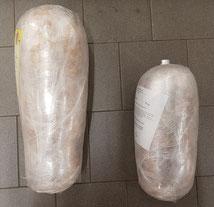 8kg (links)/5kg (rechts)