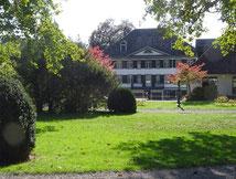 im Haffterpark; im Hintergrund das Haffter-Haus