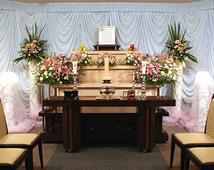 松戸市 市民葬儀制度 祭壇A 86,400円(税込)