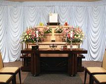 松戸市 市民葬儀制度 祭壇B 54,000円(税込)