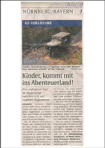 AZ Verlosung - Abenteuerland