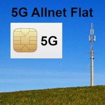 5G Allnet Flat Tarife für das Smartphone