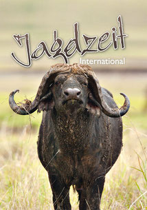 Jagdzeit International 9, Cover = Kaffernbüffel, Cape Buffalo