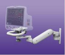 病院設備, 医療, モニターアーム, UL180, 生体情報モニタ, GEヘルスケア, ハンドル, 医療, ヘルスケア, デンタル, 歯科