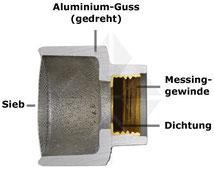 Giesskopf Alu BO-400ALC