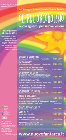9^ rassegna - OLTRE L'ARCOBALENO - 2013-14
