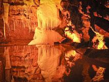 Les grottes de Lacave, situées entre Rocamadour et les chambres d'hôtes La Lysiane.