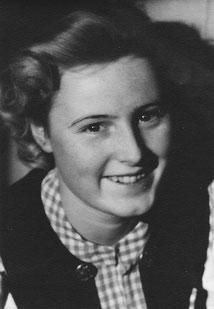 Seine Tochter Ursula Nentwig, 1939-1941 Gesangsschülerin von Hedy Brügelmann
