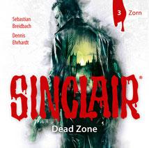CD Cover SINCLAIR DEAD Zone 3