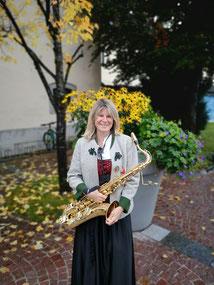 Doris Werth, Saxophon
