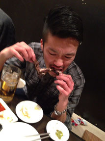 N氏はラストまで、食らう。