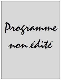 Programme  Bastia-PSG  2016-17