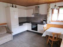 Wohnküche Ferienwohnung Peintnerhof