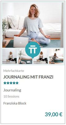 Journaling mit Franzi | Dieser Mindful Morning vereint Meditation und Schreib-Praxis copyright by zenspotting