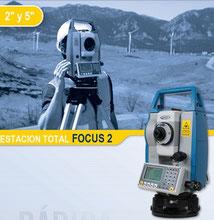 estacion total focus2 spectra precision