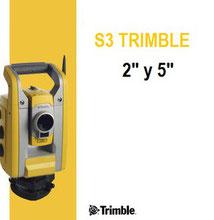 estacion total trimble s3
