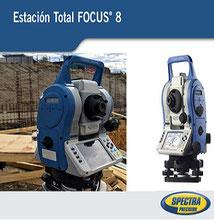 Estacion total spectra precision focus 8